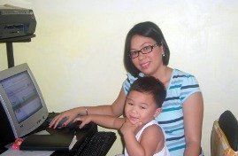 Me and my son at